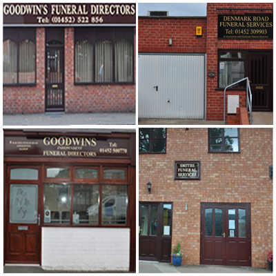 Locations of Goodwins Funeral Directors